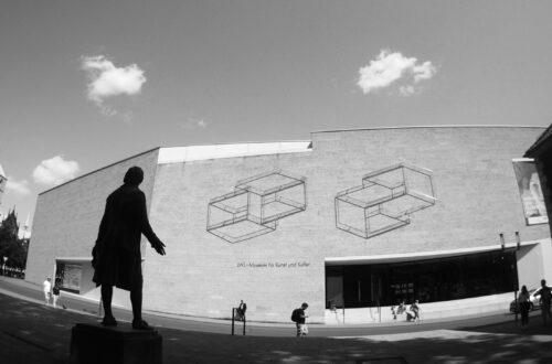 Museum b/w